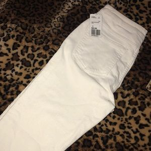 White corduroy forever 21 pants